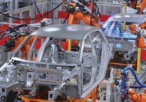 Automotive plant assembly line